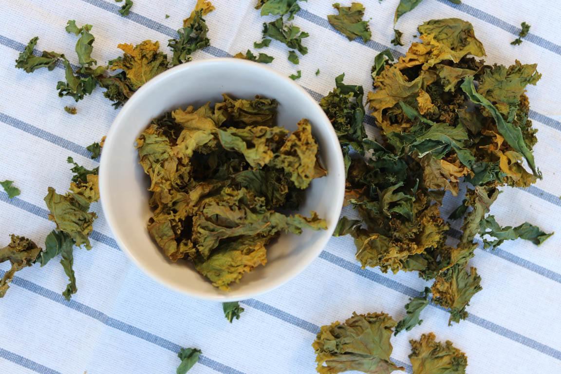 chips de col kale al horno